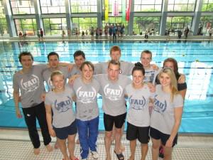 Uni DHM Schwimmen Mannschaft