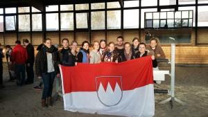 Das Team der Studentenreiter Erlangen-Nürnberg