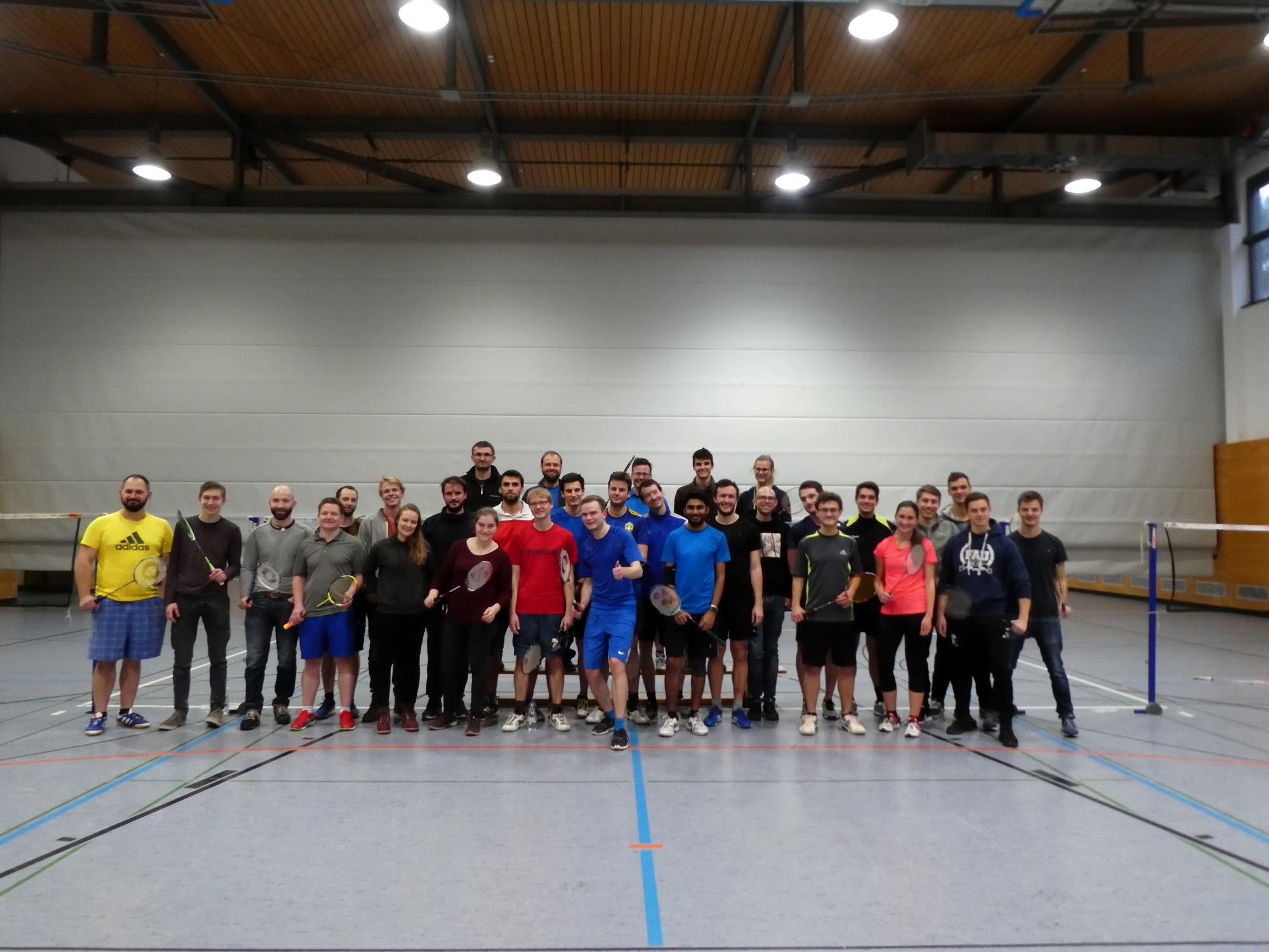 Nikolausturnier Badminton 2018