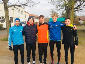 Herrenteam DHM Crosslauf